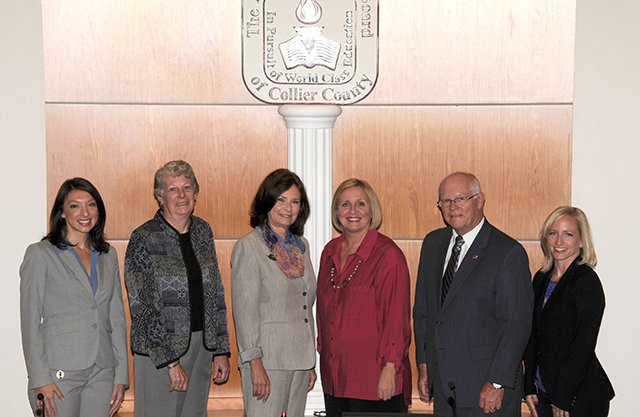 Collier County School Board members