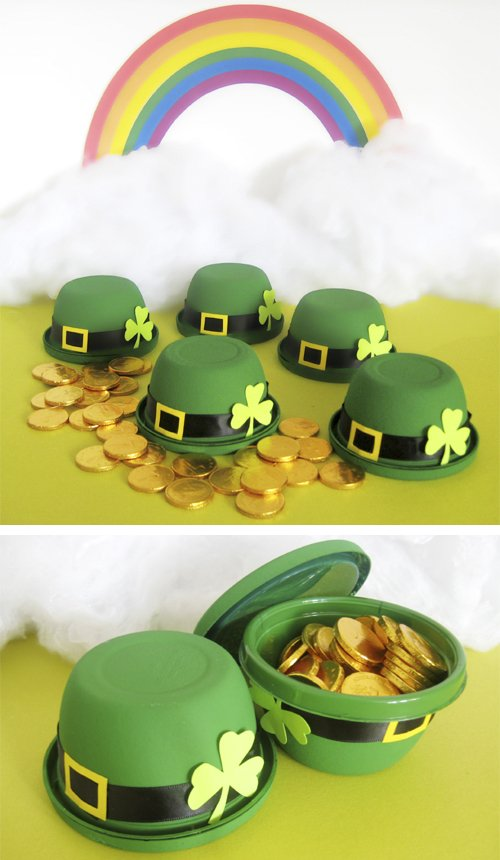 St. Patrick's Day Crafts: Bowler Hat