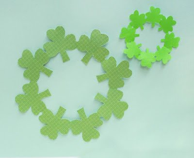 St. Patrick's Day Crafts: Paper Wreath