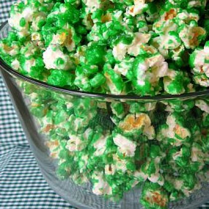 St. Patrick's Day Crafts: Candied Popcorn