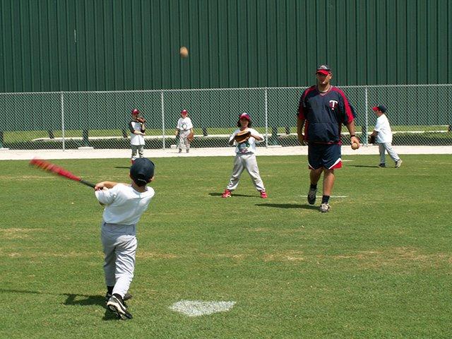 Miracle summer baseball camp