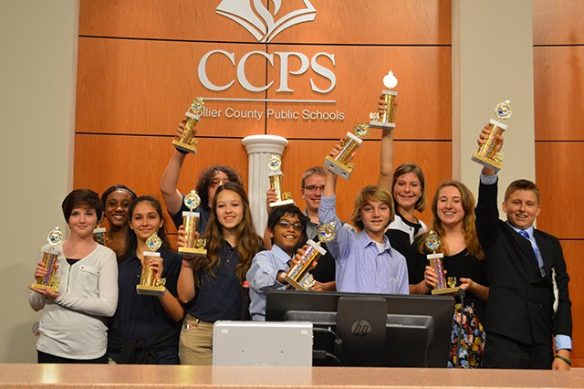 East Naples Middle Debate Team
