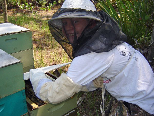 Child Beekeeper