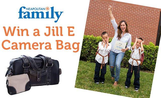 Win a Jill E Camera Bag