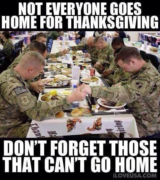 Thanksgiving Military Meme