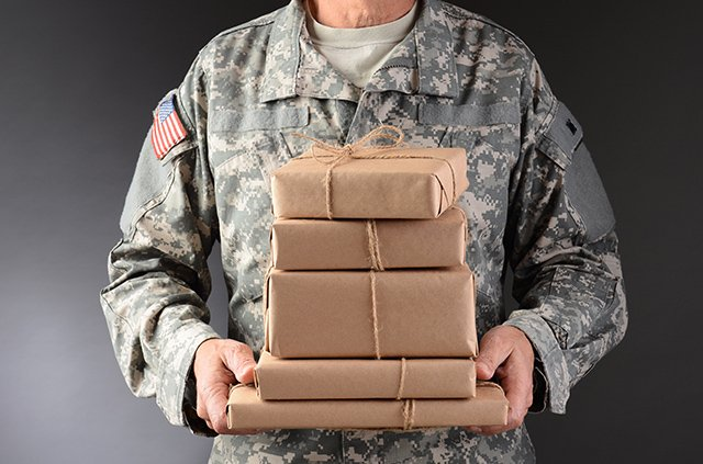 Soldier With Packages