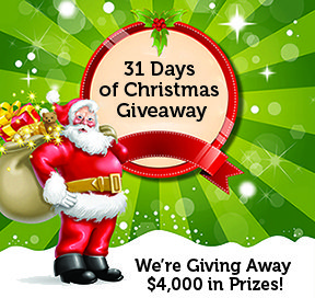31 Days of Christmas Giveaway