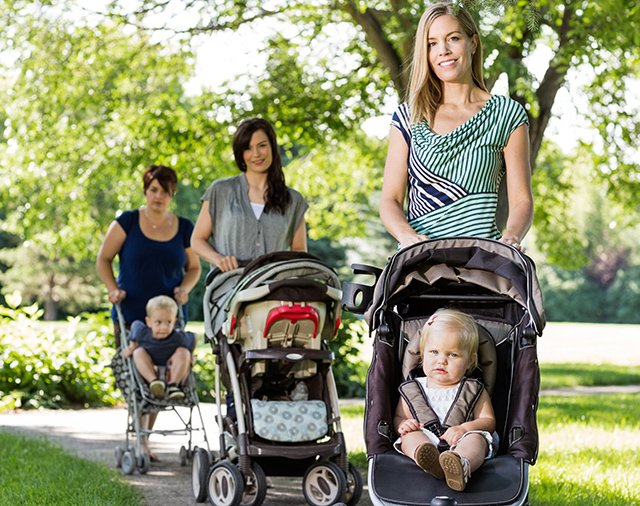 Moms Day Out with Strollers
