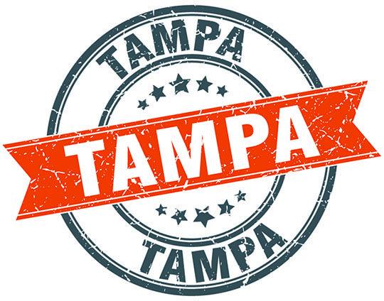 Tampa stamp