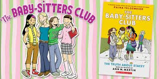 babysitter's club book cover