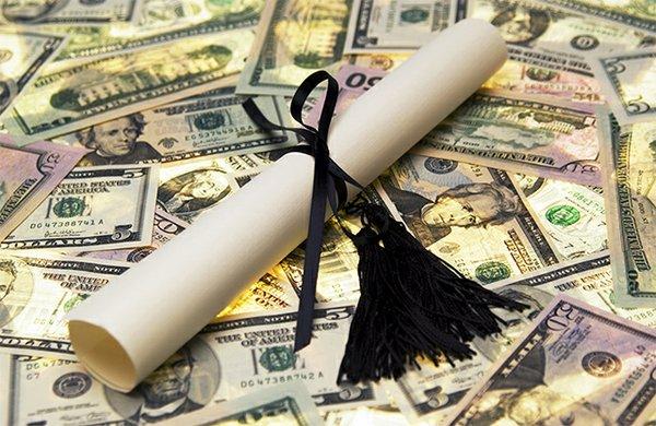 college money diploma