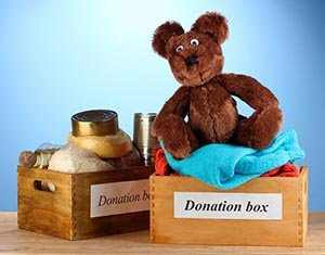 Donation boxes