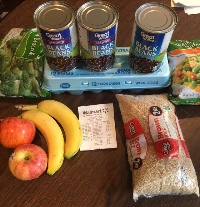 Hunger awareness challenge