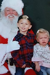 Tavin and Kendall Santa Claus Crying2.jpg