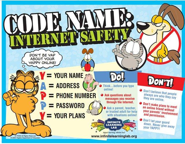 Garfield internet safety