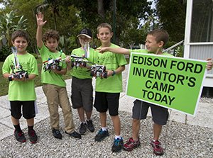 Edison Ford Inventor Camp