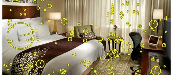 TraffickCam hotel room
