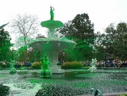Savannah green fountain