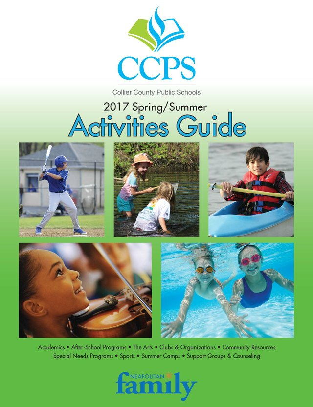 CCPS Spring/Summer Activity Guide 2017