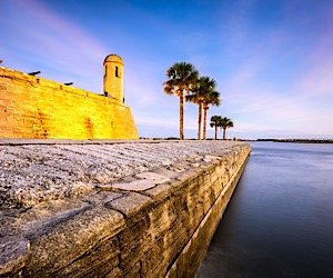 Castillo de San Marcos in St. Augustine
