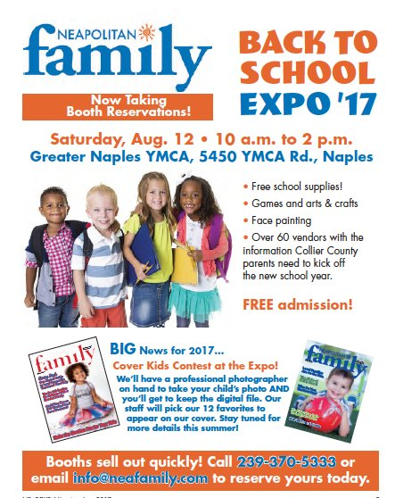 Back to School Expo 2017 Ad