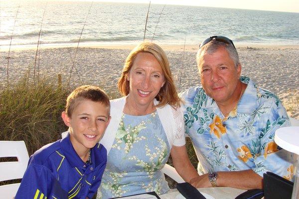 John Moll and family