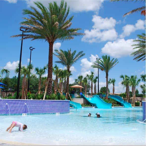 Omni Orlando Pool Slide