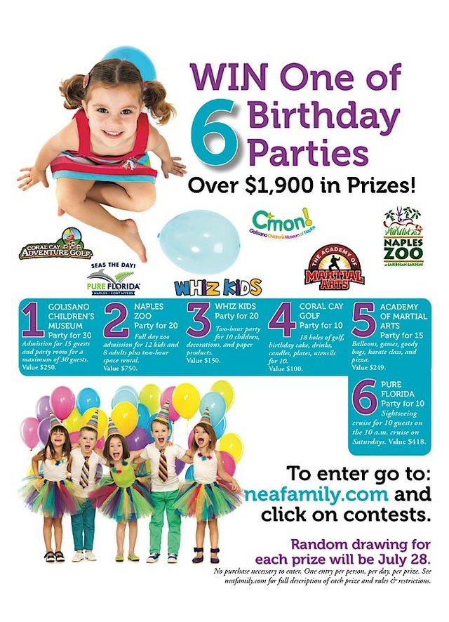 Birthday Party Ad 2017