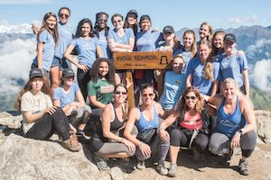 Wellfit Girls Reach the Summit