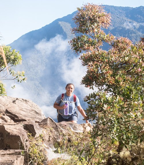 Wellfit Girls Zya Crawford Climbs Machu Picchu