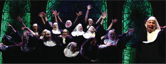 The KidzAct of Naples Players cast performs Sister Act. Jr. summer 2017