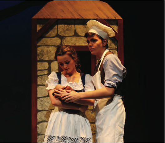 Students from the Gulfshore Playhouse's new Teen Conservatory's perform Into the Woods