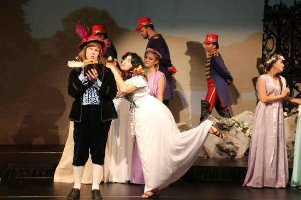 Students from Opera Naples' Summer Youth Program Perform in Patience