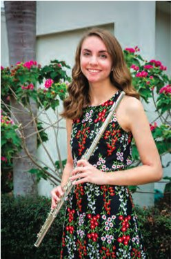 Melissa Leone flute first place Naples Music Club