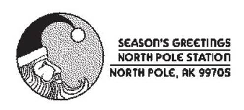 North Pole Post Mark from Santa