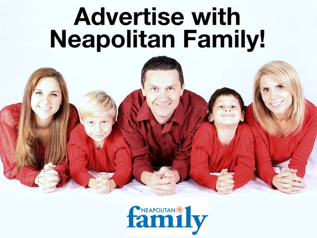 Advertise with Neapolitan Family with logo