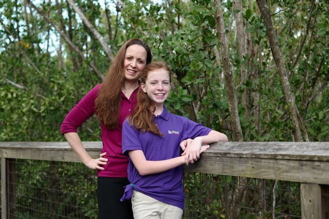 Cyndee Woolley and daughter