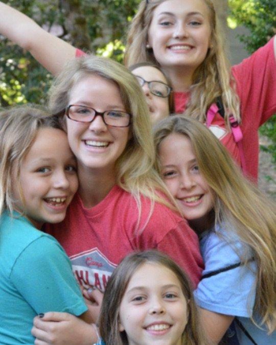 Camp highlander girls