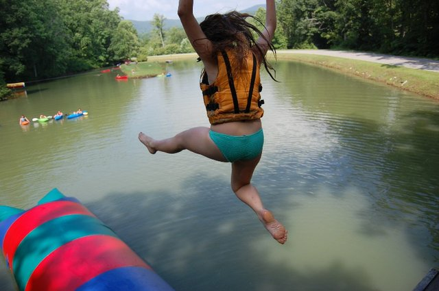 camp highlander leap of faith