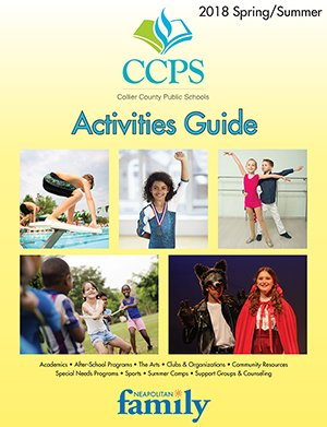 Spring/Summer 2018 CCPS Activities Guide