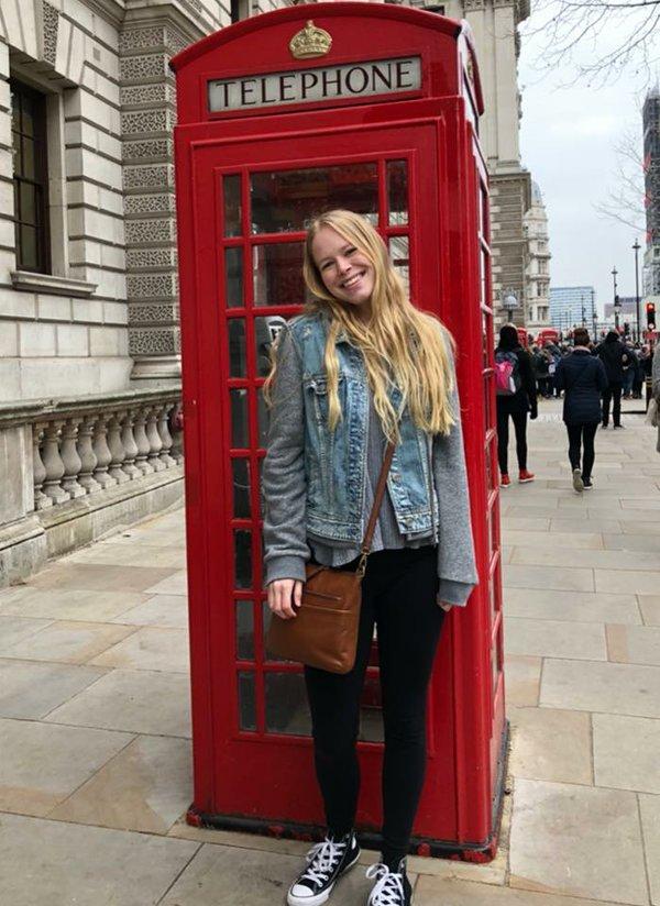 Ginny Lundstrom in London