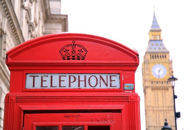 London Big Ben Phone Booth
