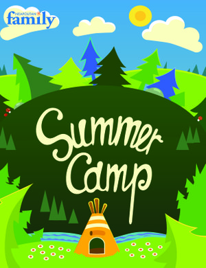 Summer Camp mini issue cover