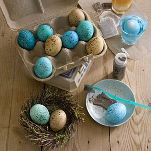 speckled eggs