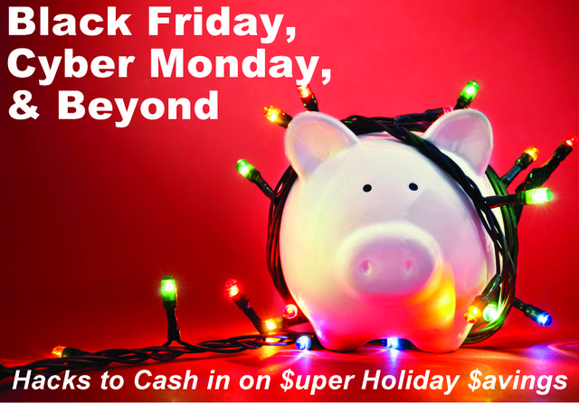 Black Friday piggybank