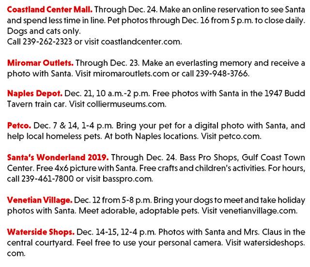 Where to Find Santa 2019