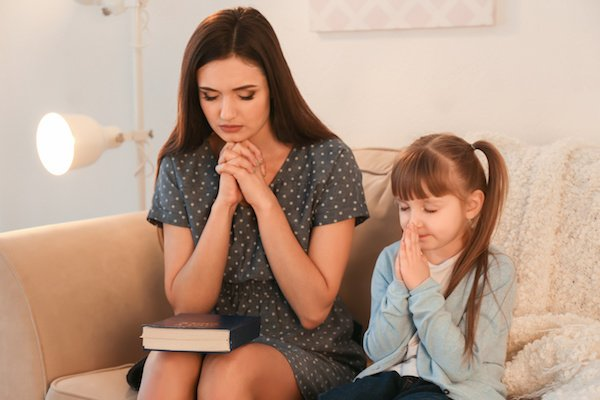 mother child prayer