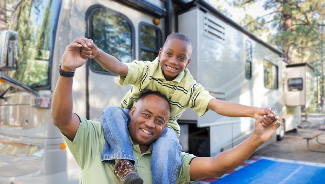 Family RV Vacation