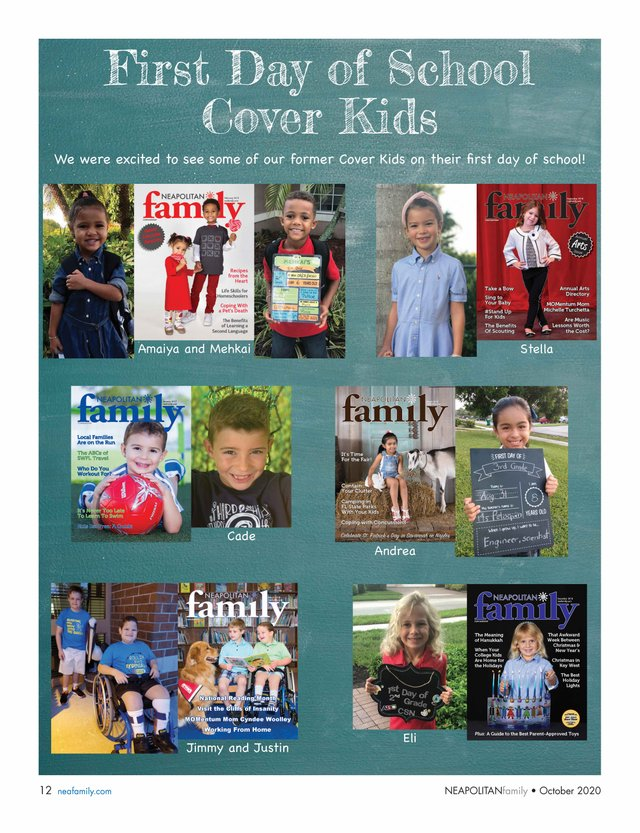 cover kids first day
