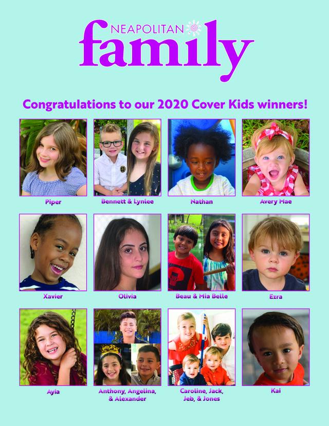 Cover kids 2020 winners